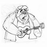 Al Disney Country Bear Jamboree Characters Drawings Bigal Character Illustration June Sketch sketch template