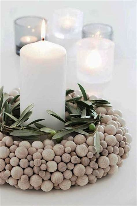 ideas  interior decorating  wooden beads  decorative balls