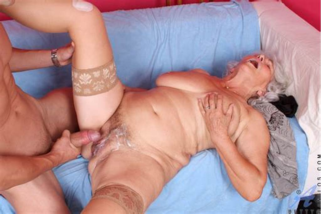 #Hot #And #Sexy #Granny #Drops #Down #Her #Dress #Sucks #A #Big #Cock