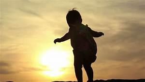 Girl Walking Silhouette Stock Footage Video | Shutterstock