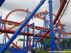 Superman: Ultimate Flight (flying coaster) - Six Flags ...