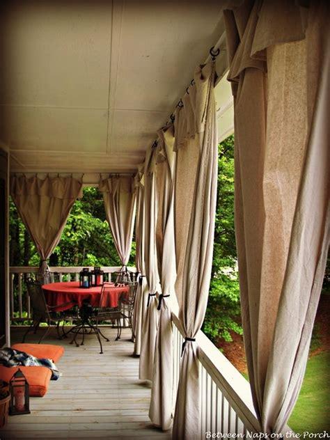 porch curtains  pinterest outdoor curtains patio
