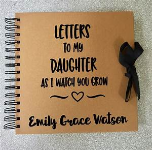letters to my daughterson baby memory book baby journal With letters to my daughter book