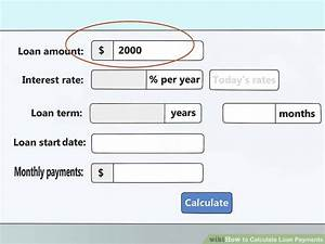 Downloadrate Berechnen : 4 ways to calculate loan payments wikihow ~ Themetempest.com Abrechnung
