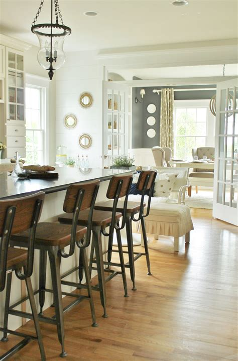 modern farmhouse kitchen barstools revealed city farmhouse