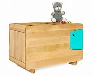 Coffre Jouet Bois : coffre jouet en bois turquoise pelican ~ Teatrodelosmanantiales.com Idées de Décoration
