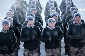 China's People's Liberation Army Soldiers Forced To Train ...
