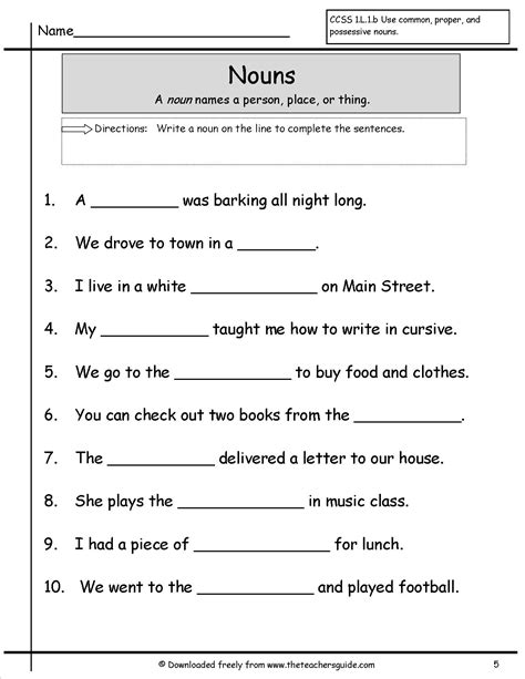 worksheet on possessive nouns with answers homeshealth info