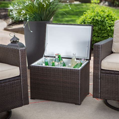 outdoor wicker resin 3 patio furniture set with 2