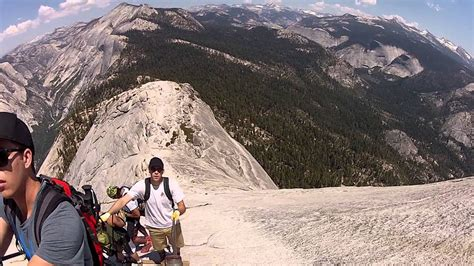 Half Dome Cables Yosemite National Park Descent June