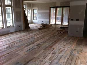 reclaimed barnwood flooring rustic flooring house With barnwood hardwood floors