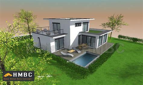 eleonore deco cuisine maison toit plat constructeur de villa toit plat hmbc