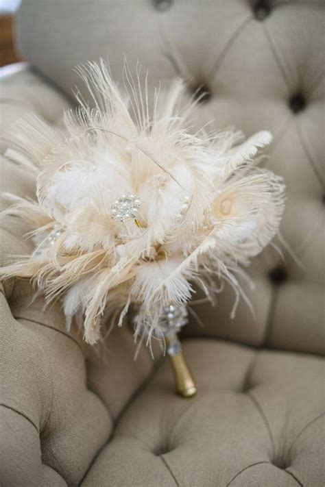 12 Unique Wedding Bouquet Ideas With Feathers