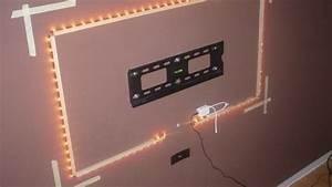 Treppenstufen An Der Wand Befestigen : n 50 installieren einer led hintergrundbeleuchtung ~ Michelbontemps.com Haus und Dekorationen