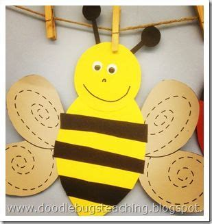 bee art projects for preschool crafts actvities and worksheets for preschool toddler and 641