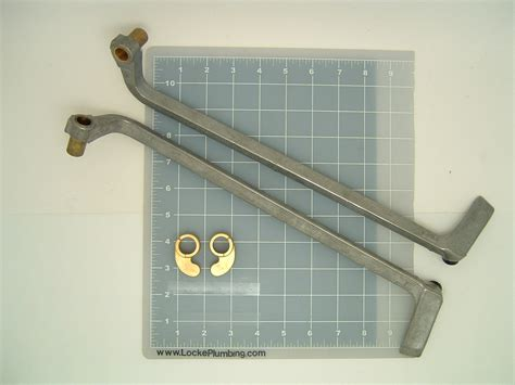 american standard 66538 66539 foot pedal levers for hot
