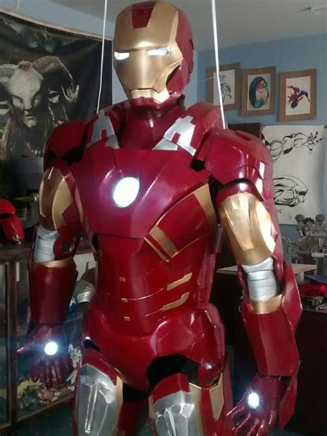 traje de iron man en goma eva  en mercado libre