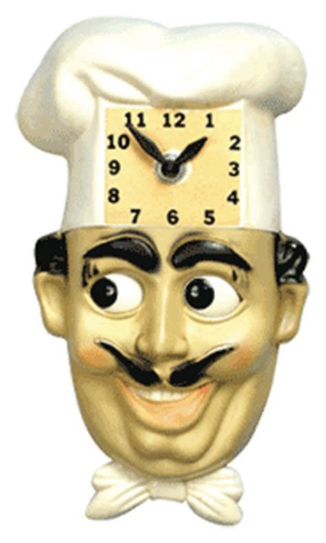 Luigi the Chef Animated Clock » Bars & Booths