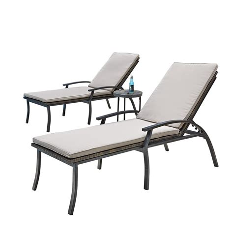 Black Chaise Lounge by 15 Inspirations Of Black Chaise Lounge Outdoor Chairs