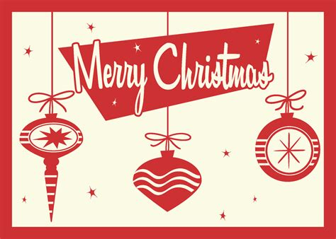 retro christmas card by 66robert