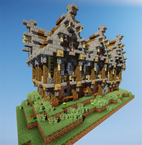 Minecraft Structures Drone Fest