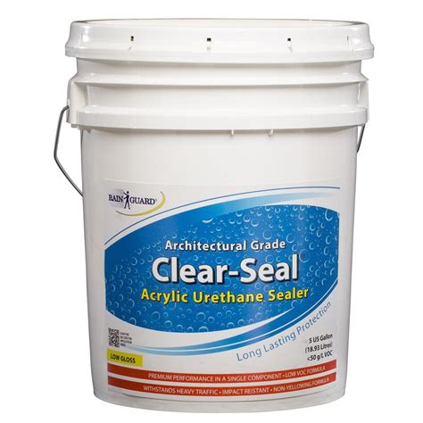 tricopolymer voc free non toxic lumber seal 5 gal clear