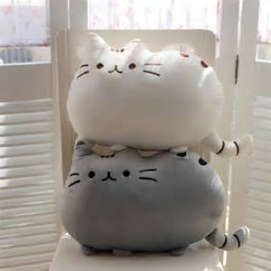 pusheen cat pillow kawaii brinquedos new cat pusheen pillow with zipper only