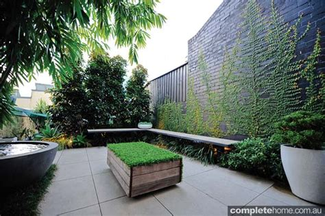 small city backyard ideas real backyard inner city courtyard garden design completehome