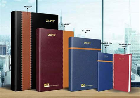 pu leather management diary case bound customised diary