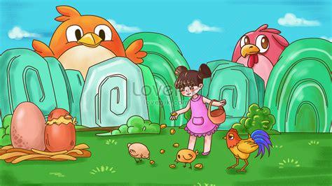 1080 gambar animasi memberi makan hewan gratis terbaru