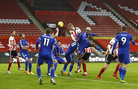 Leicester City players ratings vs Sheffield United- The ...