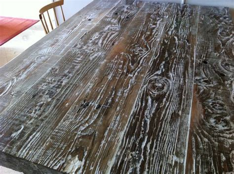 Photo #21389   Kitchen Table from Weathered Douglas Fir