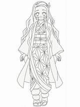 Slayer Demon Coloring Nezuko Pages Anime Kimetsu Yaiba Draw Rui Kamado Printable Tanjiro Drawing Mangajam Drawings Lineart Coloringonly Zenitsu 塗り絵 sketch template