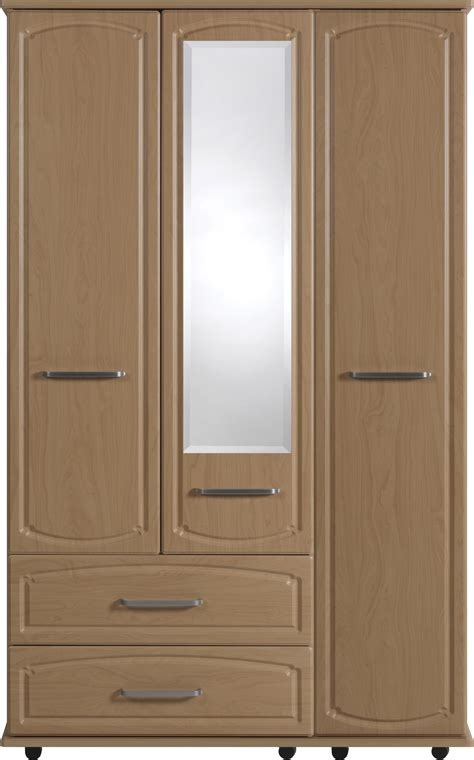 Wardrobe With Drawers And Mirror by Thame 3 Door Wardrobe With 2 Drawers And 1 Mirror