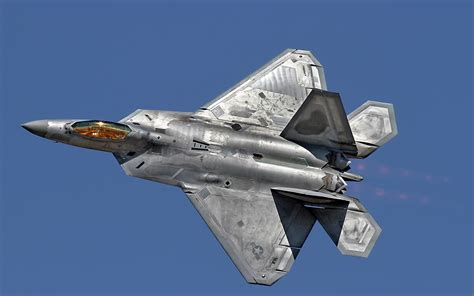 F-22 Raptor Sky Weapon Jet Jets Fighter Military Wallpaper