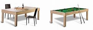 une table de billard design convertible pour surprendre With table de billard moderne