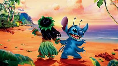 Stitch Lilo Wallpapers Wallpapercave Ao01 Parede Papel