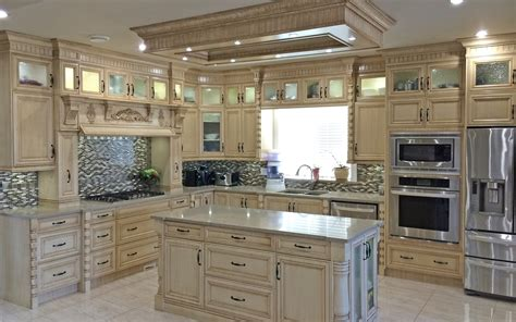 custom kitchen cabinets designs semi white custom kitchen cabinet the decoras 6363