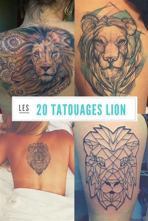 tatouage lion mandala femme