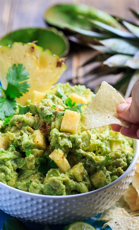 spicy pineapple guacamole spicy southern kitchen