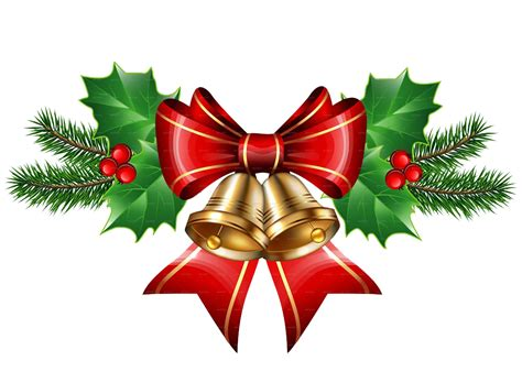 christmas bell transparent hq png image freepngimg