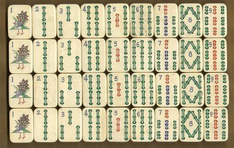 mah jong tiles understanding the makeup of the tiles in your mahjong set