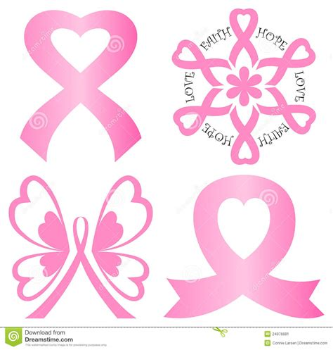 Breast Cancer Awareness Clip Cancer Stock Illustrations Vectors Clipart 17 943