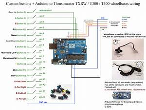 Thrustmaster Tx Rw Wheelbase And Arduino - Part 3