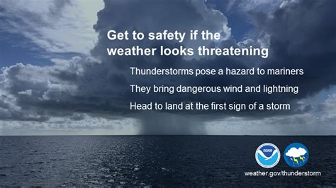 Boat Safety During Thunderstorm by 2018 Thunderstorm Social Media