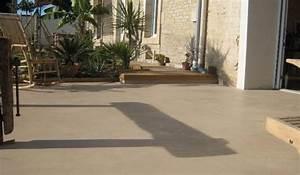 peinture pour terrasse peinture terrasse sur With peinture sur beton exterieur