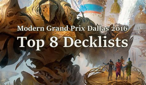 Modern Decks Mtg Top 8 modern grand prix dallas 2016 top 8 decklists 3 x infect