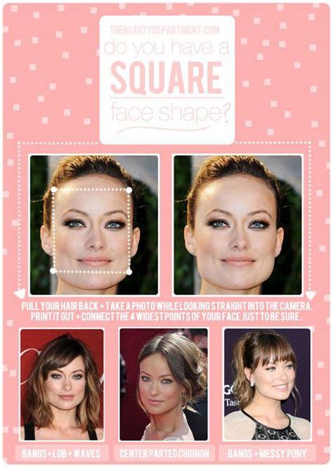 hair talk square face shape hair healthy shines
