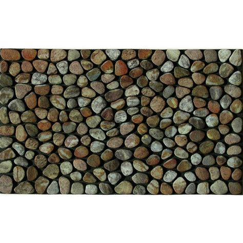 Pebble Doormat by Apache Mills Pebble 18 In X 30 In Recycled Rubber