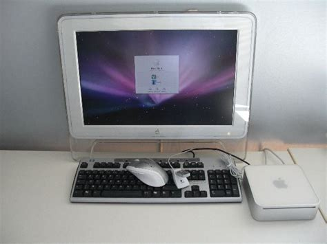 ordinateur de bureau comprenant unit 233 centrale apple mar mini 233 cran interencheres